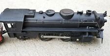 "VINTAGE  1950S 9 1/2"" MARX METAL STEAM ENGINE TRAIN 666 + Coal & A.T&S F. CAR"