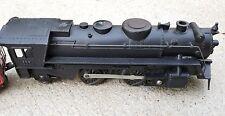 "VINTAGE  1950S 9 1/2"" MARX METAL STEAM ENGINE TRAIN 666 + Coal & A.T&S F. CAR"