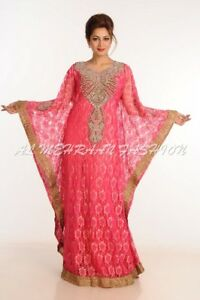 NEW DUBAI MODERN BRIDAL NET FABRIC HAND EMBROIDERY WORK AT LOWEST PRICE 114