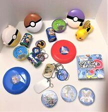 Pokemon Mixed Lot of Pokemon Toys & Mini Book  & Pikachu
