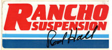 RANCHO SUSPENSION ROD HALL PRO TOURING SCCA ROAD RACE VINTAGE LOOK DECAL STICKER