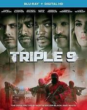 Triple 9 Blu-ray disc (2016) (no digital copy) - Fast shipping! With Sleeves.