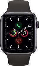 Apple Watch Series 5 Gps Cellular cassa in acciaio nera 44mm black sport band