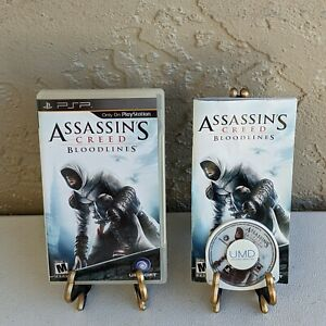 Assassin's Creed: Bloodlines (Sony PSP, 2009) Complete CIB - TESTED - See Pics