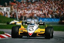 Alain Prost Renault RE30B Austrian Grand Prix 1982 Photograph