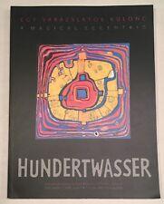 Hundertwasser Magical Eccentric - Bodor Kata 2007 Softcover Art Transautomatism