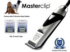 Cocker Spaniel Sprocker Dog Clippers Set Trimmer with 3 Blades by Masterclip
