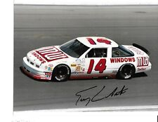 Autographed Terry Labonte NASCAR Auto Racing Photograph