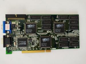 3dfx Voodoo 2 ATC-2455 PCI Video Graphics Adapter Missing Bracket