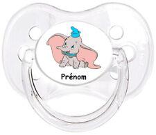 Tétine bébé personnalisée Elephant Dumbo E19  - Custom Pacifier BABY