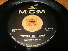 CONWAY TWITTY - TOWER OF TEARS - PORTRAIT OF A FOOL  - LISTEN - ROCK N ROLL