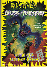 Ghosts of Fear Street No. 17: House of a Thousand Screams -- R. L. Stine 1997 PB