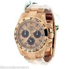 ROLEX Daytona 116505 Everose Gold 40mm Bracelet Rose Dial Unworn w B/P