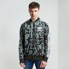 NWT Adidas Originals Camo Superstar Track Top Jacket SST small trefoil hu