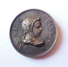 médaille argent NAISSANCE DU ROI DE ROME 1811 Napoléon Ier