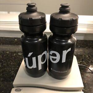 2 Specialized Purist Superdomestik Cycling 500ML Water Bottles Rapha Ornot Mash