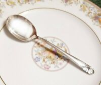 International Spring Glory Sterling Silver Cream Soup Spoon