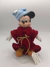 🌟Disney Mickey Mouse Porcelain Sorcerers Apprentice Fantasia Doll - #652/10,000