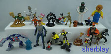 Vintage Junk Drawer Toy Chest Lot - Small Plastic Rubber Figure Figures