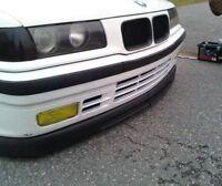 E 36 WIDE GTR front bumper spoiler chin lip addon valance trim splitter M3 CSL