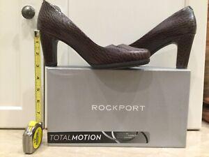 Rockport Pumps adiprene by Adidas Croco  size 8M, 38.5