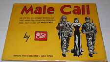 MALE CALL- FEATURING MISS LACE-MILTON CANIFF - HARDCOVER- 1945, third Printing