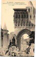 CPA Angers-Composition artistique des Monuments historiques de la Ville (189777)
