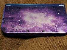 Used Nintendo 3DS XL Galaxy Style Handheld Console with 4 gb SD card.