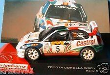 TOYOTA COROLLA WRC #5 1998 SAFARI RALLY COLLECTION SAINZ MOYA 1/43 IXO ALTAYA