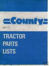 COUNTY TRACTOR PARTS MANUAL - MANY MODELS 944 954 964 974 1004 1124 1164 1184 ++