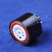 1pc 12AX7 12AU7 to 6SN7 6SL7 Tube Adapter Converter Socket 9pin to 8pin Adaptor