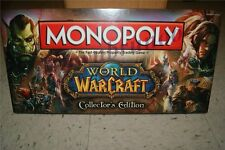 Monopoly Board Game World of Warcraft Collector's Edition w 6 Collectible Tokens