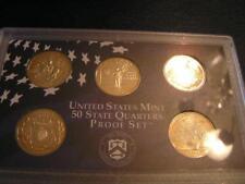 1999 2000 2001 2002 D Cam Proof Quarters OGP Complete