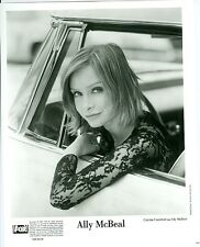 CALISTA FLOCKHART ALLY MCBEAL PORTRAIT ORIGINAL 2001 FOX TV PHOTO