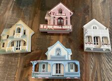 Shelia's Collectibles Lot Houses of Oak Bluffs Ma Vineyard 1995 Signed
