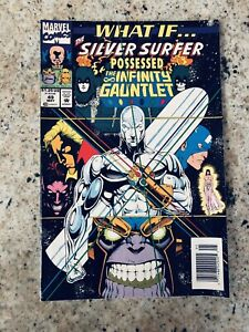 Marvel Comics What If Silver Surfer Possessed the Infinity Gauntlet V/F to N/M
