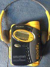 Sony Walkman Sports Wm-Fs595 100% Tested And Working Vintage Original