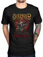 Official Avenged Sevenfold New Day Rises T-Shirt Hail The King Seventh Trumpet