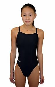 Adoretex Women Thin Strap Swimsuit with Piping