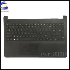 New HP 15-BS 15-BW 15-BS020WM Upper Palmrest Case W Keyboard Touchpad 925008-001