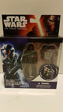 "First Order TIE Fighter Pilot Elite Star Wars Force Awakens Armor Up 4"" Figure"