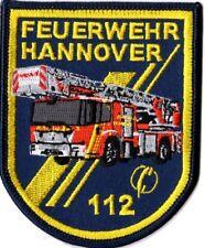 Abzeichen Feuerwehr Hannover DLK (8 x 10 cm), Sammlerabzeichen limitiert