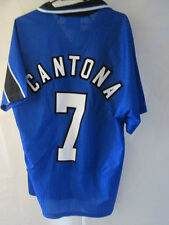 Manchester United 1996-1997 Cantona 7 3er Camiseta de Fútbol medio Trikot / 34792