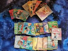 Lot Of 27 Vintage Whitman's Tell A Tale Children's Books inc: Lassie, 3 Bears +