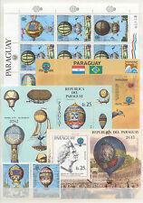 Luftfahrt, Ballone, Montgolfier - Paraguay - LOT ** MNH