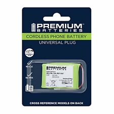 Premium Batteries BT-17333 P-P303 Universal Cordless Phone Battery for 2/3 AA3