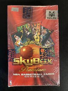 1995-96 FLEER/SKYBOX PREMIUM SERIES 2  Basketball Sealed Retail Box