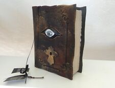 Spooky Halloween Props Party Prop SCARY Evil Eye Lights Up New Spell Book