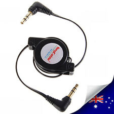 Retractable 3.5 mm Audio Car Cable for ipod iphone HTC Samsung (N023)