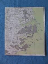 Civil War Map of  North Carolina Coast,Cape Hatteras, Pamlico Sound, Neuse River